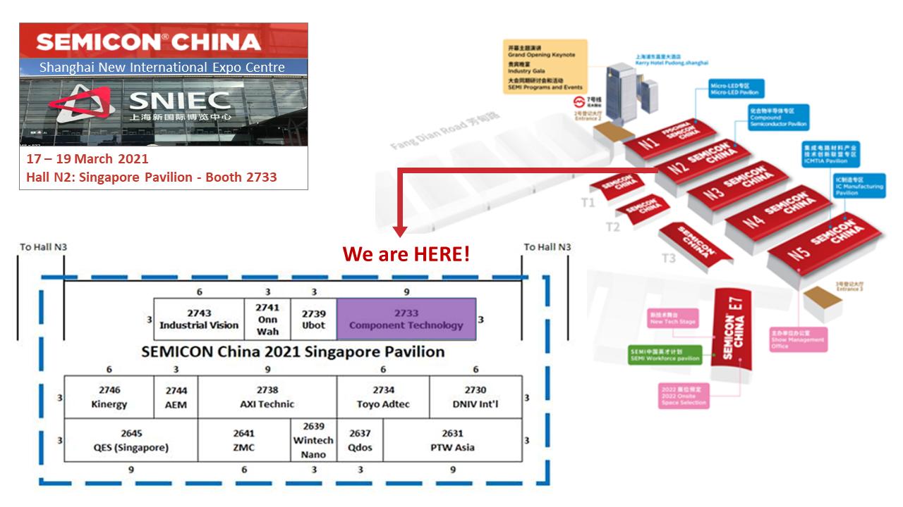 See us at Semicon China 2021 (17-19 Mar @ SNIEC)